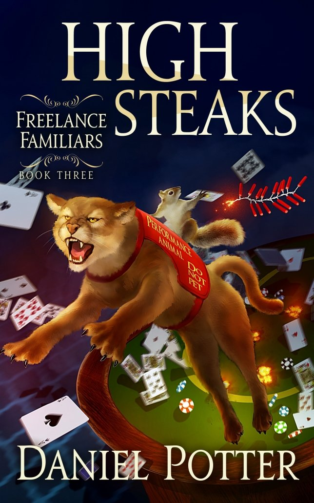 Book Cover: High Steaks