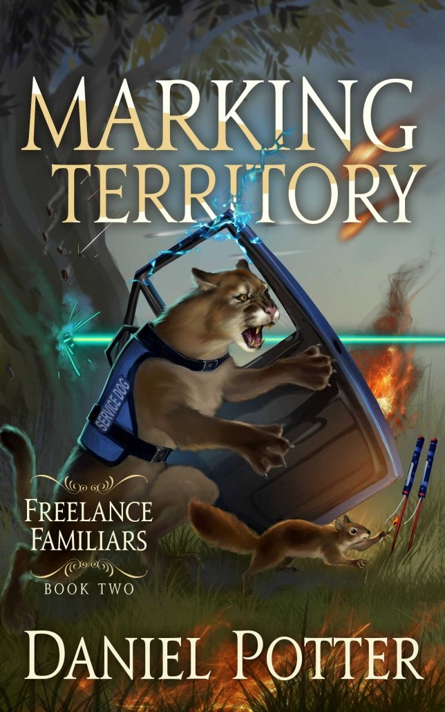 Book Cover: Marking Territory