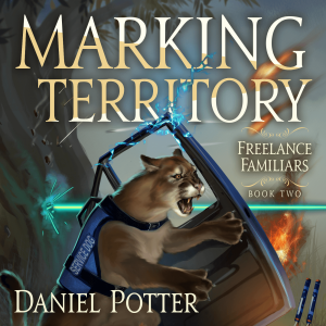 Book Cover: Marking Territory Audiobook