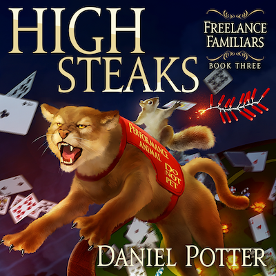 Book Cover: High Steaks Audiobook